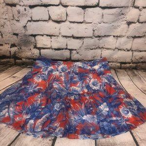 NWT J. Crew Ratti Rio Floral Mini Skirt
